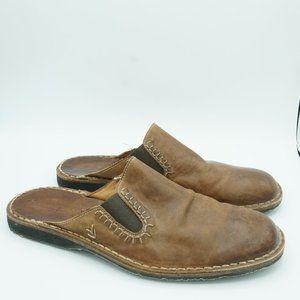 John Varvatos slide on leather shoes 10